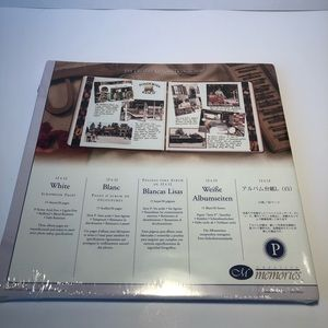 Creative Memories 12x12 White Scrapbook Pages